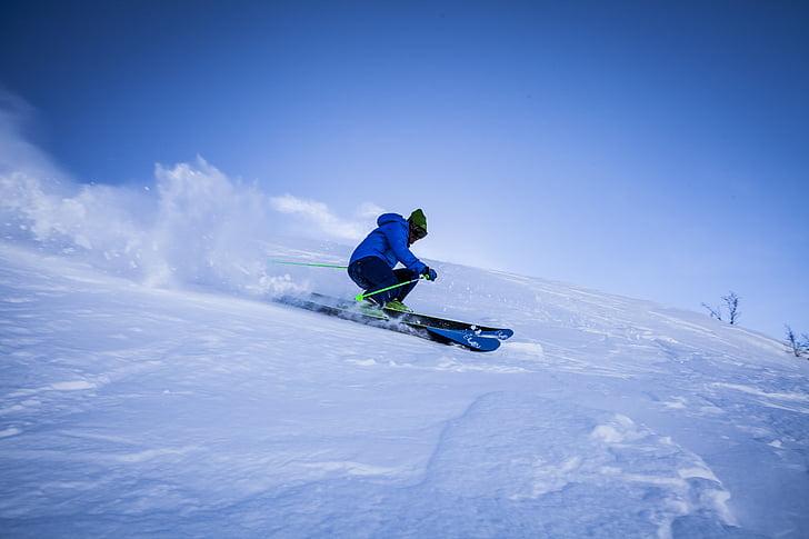 eylem, macera, Alp, Blue Dağları, soğuk, eğlenceli, buz