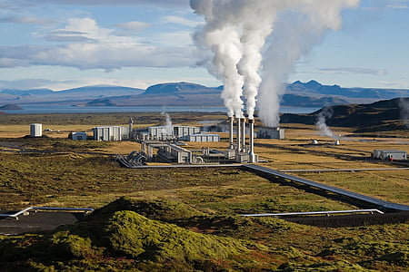 електростанція, Геотермальна, Геотермальна енергія, Гео теплова електростанція, Скалгольті, Ісландія, парові