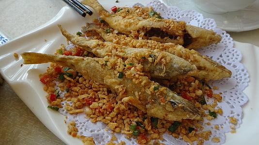 pesce, cibo fritto, cibo, frutti di mare, fritto, pasto, cena