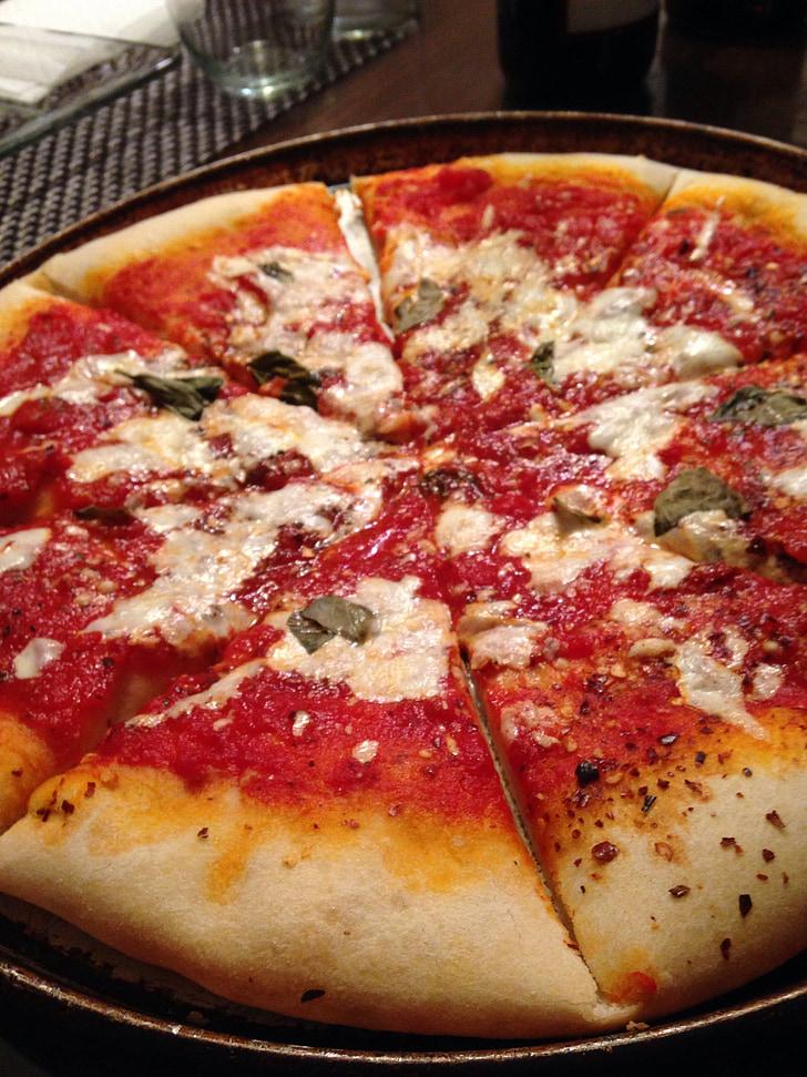 Pizza, Italiano, Fast food, formaggio, fetta, Pizza di formaggio