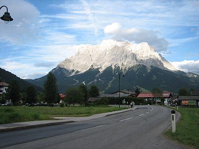 Альпійська, Гора, гірський ландшафт, Природа