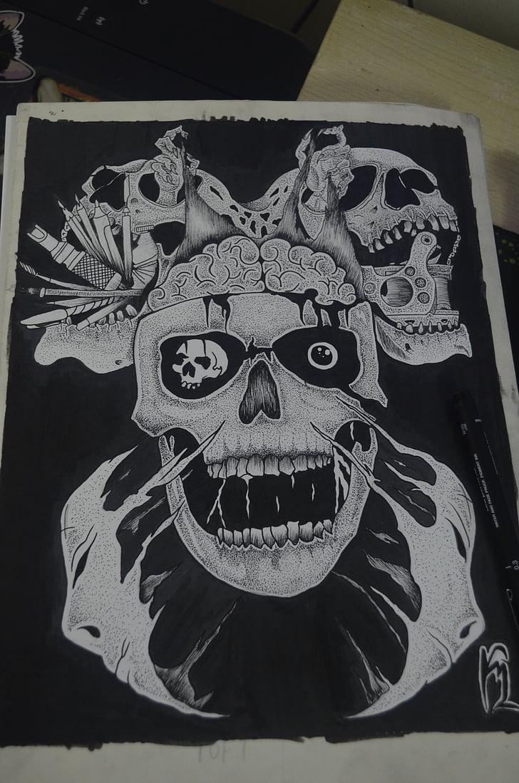 tatuatge, Art, negre