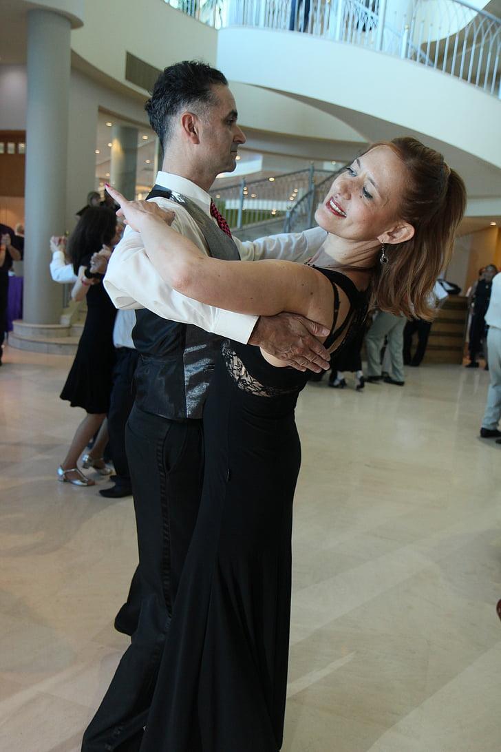 vals, tango, dansa, Ball, l'amor, sala de ball, parella