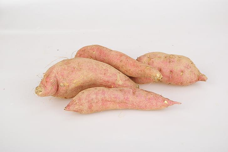 moniato, un aperitiu, productes agrícoles, aliments, ingredients, patata, alimentació saludable