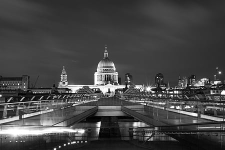 st paul's cathedral, christopher wren, london, architecture, religion, dome, skyline
