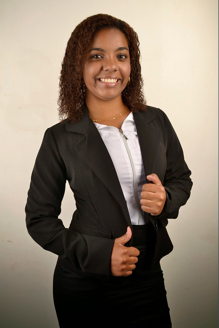 woman, black, businesswoman, young, accounting, if the, human resources
