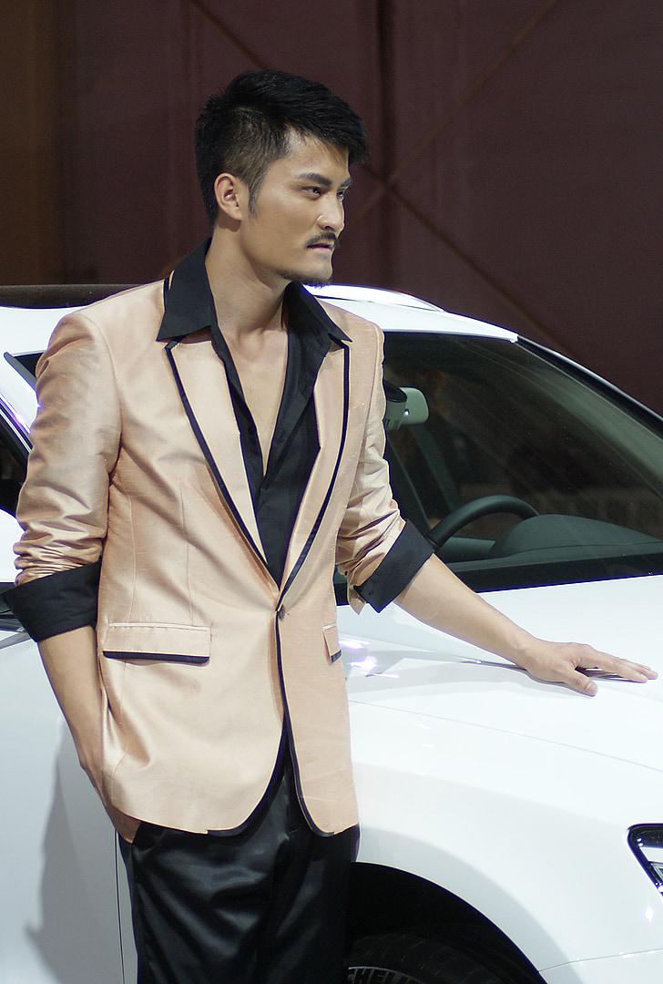 handsome guy, cold, model