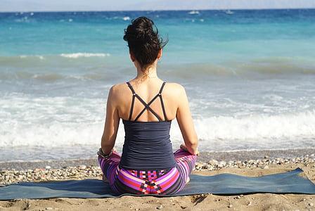 релаксация, Йога, концентрация, Медитация, Природа, на внешней стороне, мне?