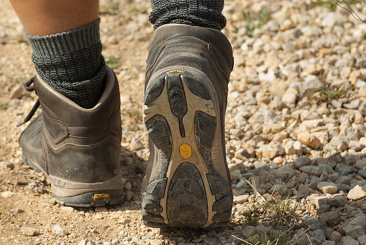 caminant, Walker, Senderisme, Senderisme, sabata, bota, a l'exterior