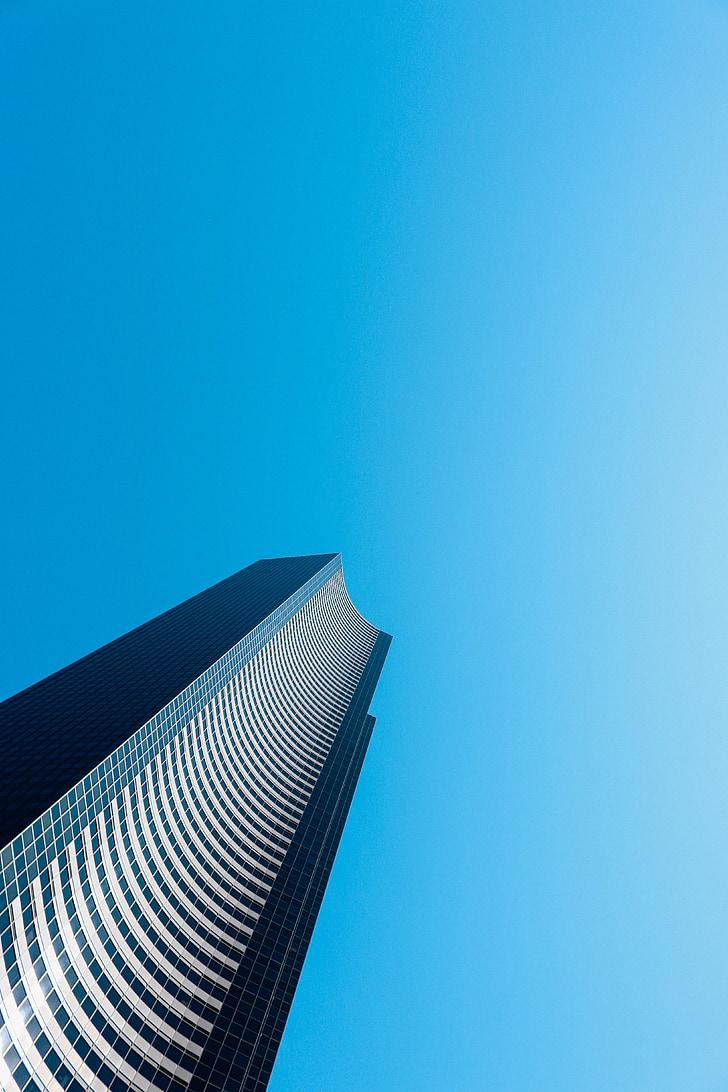 edifici, gratacels, ciutat, arquitectura, edifici de negocis, Oficina, edifici modern