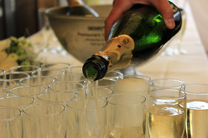 แชมเปญ, เครื่องดื่ม, เครื่องดื่มแอลกอฮอล์, apéro, ค็อกเทล, แก้ว, ถ้วย
