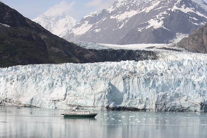 Alaska, glacera, Badia, Parc Nacional, preservar, EUA, vaixell