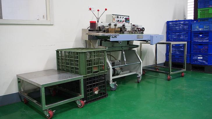 fàbriques d'aliments, aliments, matèria primera, embalatge, cintes transportadores, salut, Taller
