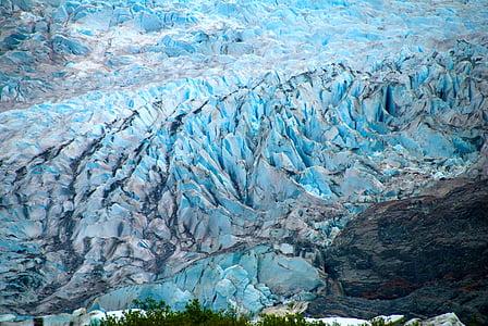 Alaska, gel, glacera