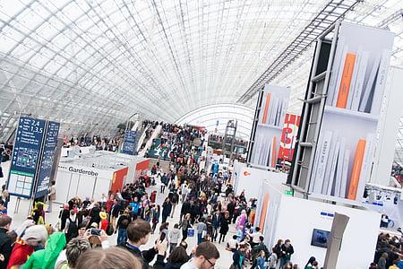 Hội chợ sách, Hội chợ, con người, Leipzig, tổ chức sự kiện, nhiều, khối lượng