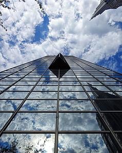 skyscraper, building, city, urban, architecture, business, modern building
