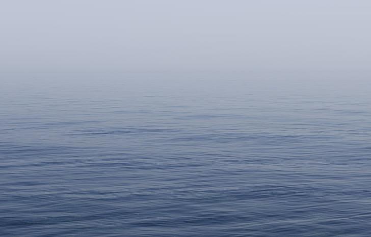 l'aigua, blau, superfície, Mar, oceà, líquid, cel