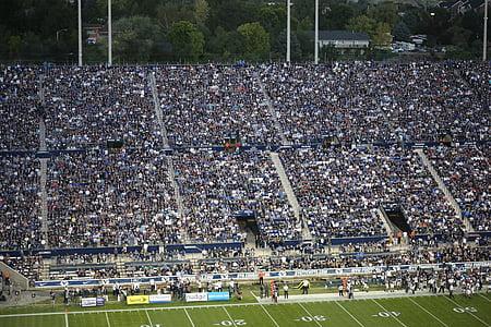 futbol, equip, persones, joc, multitud, esport, nord-americà