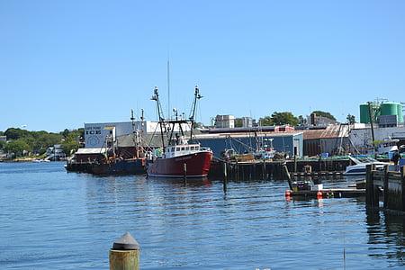 fishing, boat, fishing boat, harbor, fisherman, docks, fish