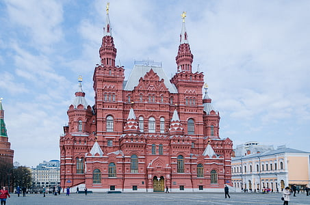 historical museum, moscow, red square, museum, history, architecture, russia