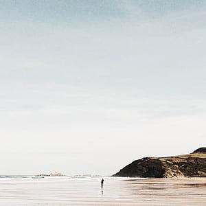 Serenity, voda, pláž, Zen, mírové, oceán, klidný