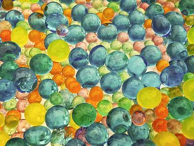 tekstur, gelembung, gelembung latar belakang, latar belakang warna-warni, multi berwarna, biru, warna