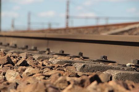 tog, jernbane, reise, jernbane, transport, spor, jernbane spor