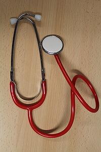 stethoscoop, bloeddruk, hart, onderzoek, medische, Groeten, gezondheidscontrole