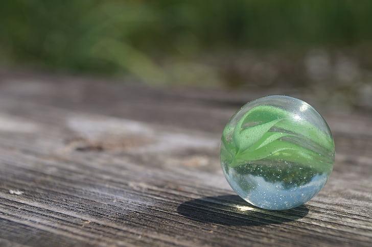 мрамор, Стеклянный шар, красочные, о, стекло, мраморы, рулон