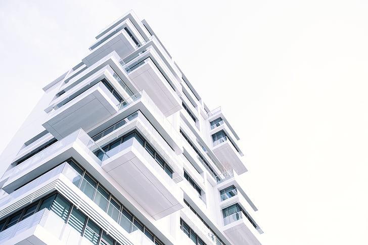 arhitektuur, hoone, valge