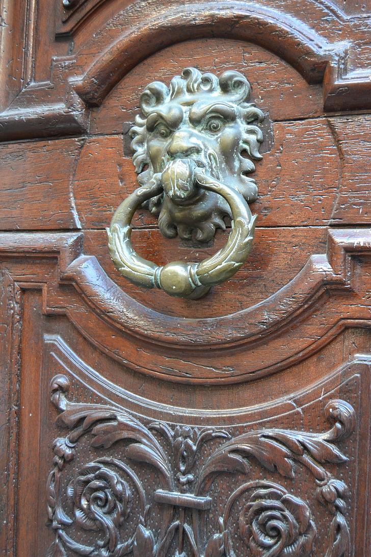 França, Provença, AIS de Provença, sud de França, porta, Thumper, fusta