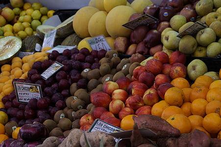 voće, voće, tržište, tržnici, Kupnja, kupovina, zdrav