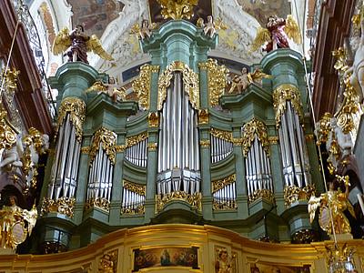 organų, muzikos instrumentas, muzika, bažnyčia, priemonė, švilpukas, Brošiūra