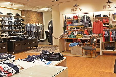 服装, 商店, 牛仔裤, 服装, 裤子
