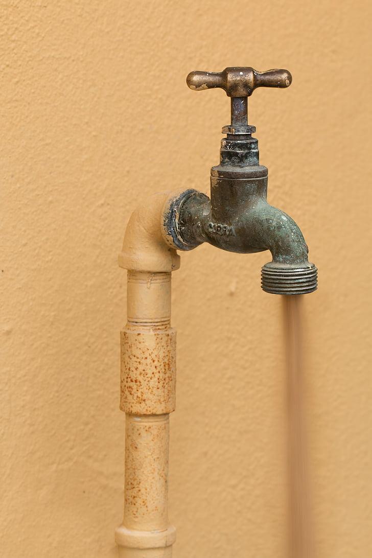 кран, сантехніка, Торкніться, водопровідник, Труби, санітарні, ремонтник