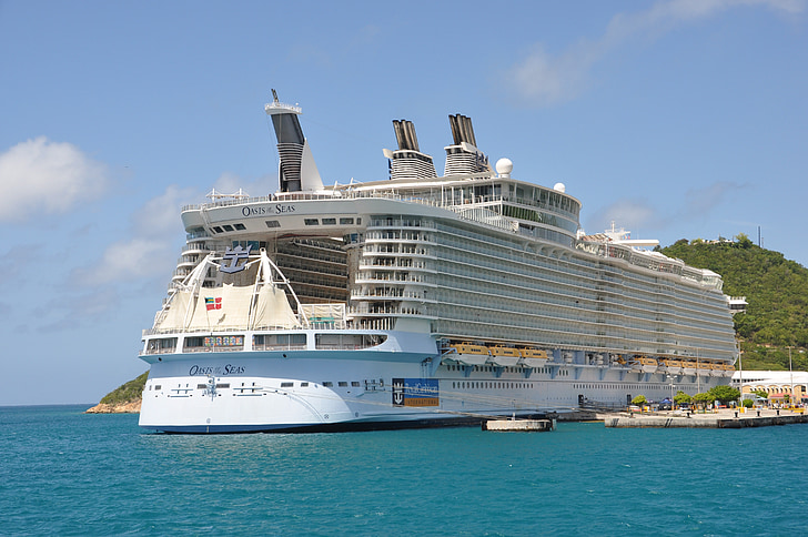kryssningsfartyg, oas av haven, Boot, vatten, fartyg, Holiday, kryssning