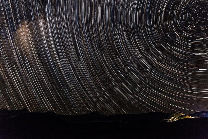 Space, bầu trời, sao, Thiên Hà, Thiên nhiên, đêm, ánh sáng
