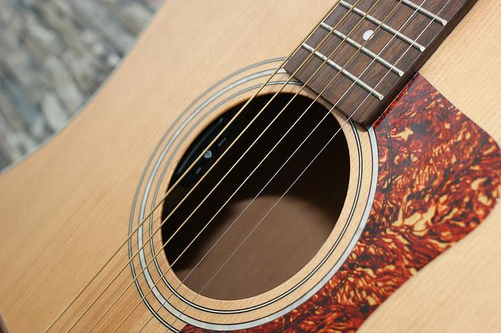 Guitarra, Guitarras, instrumento de cuerda, guitarra acústica, Klampfe, tocar la guitarra, Estado de ánimo