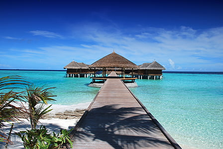 maldives, ile, beach, sun, holiday, ocean, nature