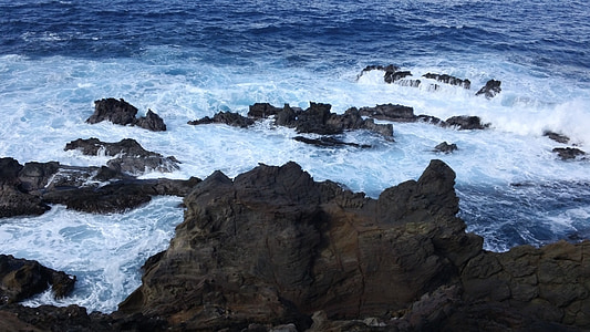 illa de Pasqua, roques, illa, del Pacífic, oceà, Mar, marí