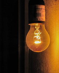 glödlampor, lampan, energi, ljusstyrka, glödlampa, elektrisk lampa, ljusutrustning