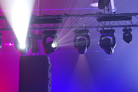projectors, show, projector, stage - Performance Space, spotlight, lighting Equipment, illuminated