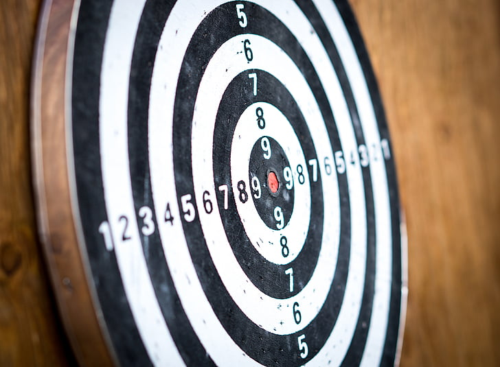 goal, target, dart board, darts, accurate, competition, arrow