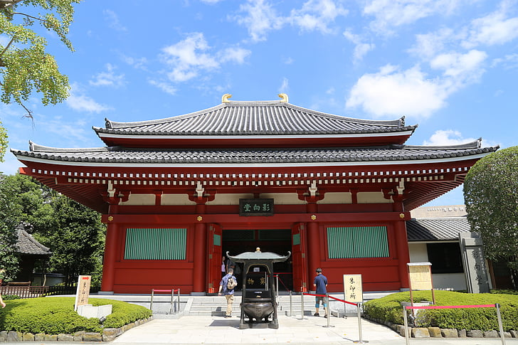 japan, ancient architecture, the scenery