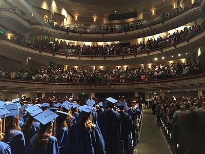 дипломирането, дипломирането капачка, постижения, училище, церемония, образование, завършил