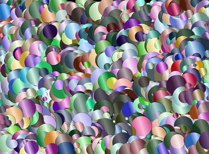 confeti, Fondo, colorido, diseño, obra de arte, creativa, Resumen