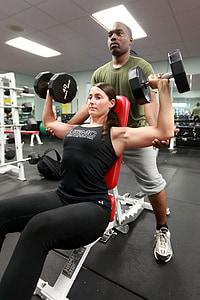 svars, celšanas, jauda, sievietes, trenažieru zāle, fitnesa, jaunais