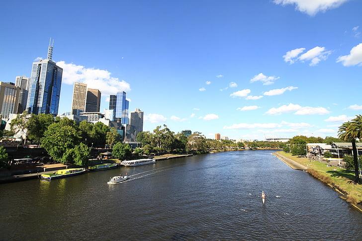melbourne, australia, urban, city, architecture, cityscape, travel