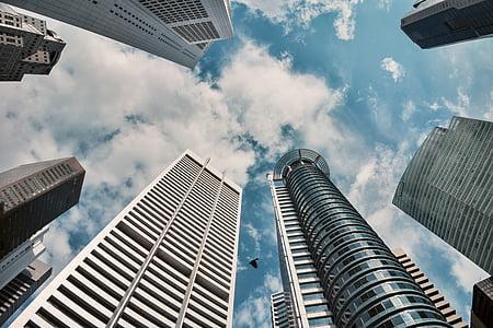 arquitectura, gratacels, CDB, Singapur
