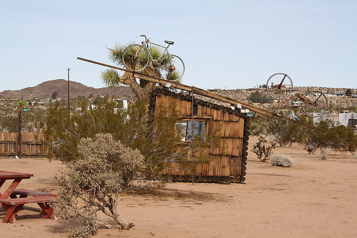 Amerikai Egyesült Államok, California, Mojave, Joshua tree, Noé purifoy sivatagi Múzeum, Art